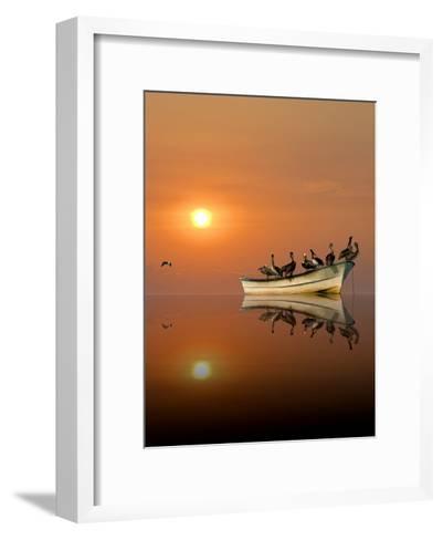 Resting-Claude LeTien-Framed Art Print