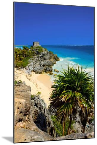Riviera Maya in Yucatan-Visions Of Our Land-Mounted Photographic Print