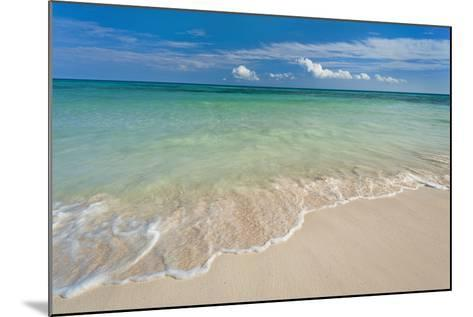 Mexico, Yucatan, Sandy Beach and Turquoise Sea-Tetra Images-Mounted Photographic Print