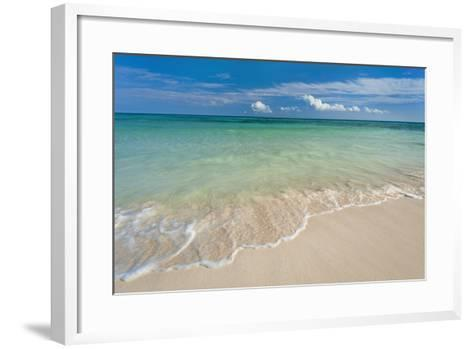 Mexico, Yucatan, Sandy Beach and Turquoise Sea-Tetra Images-Framed Art Print