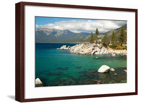 Lake Tahoe Landscape-Megan Ahrens-Framed Art Print
