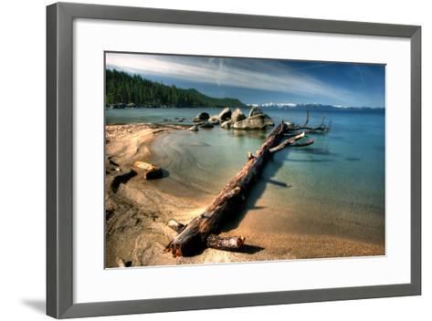 Chimney Beach, Lake Tahoe-Photo Tan Yilmaz-Framed Art Print