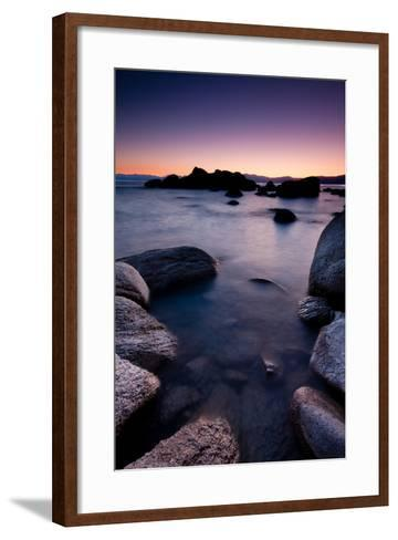 Good Night, Tahoe-photograph by Quan Yuan-Framed Art Print
