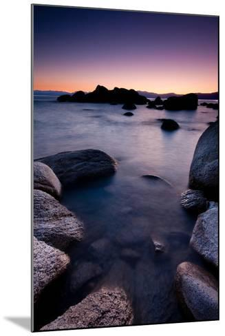 Good Night, Tahoe-photograph by Quan Yuan-Mounted Photographic Print