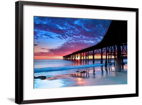 The Jetty..-Photography by Carlo Olegario-Framed Art Print