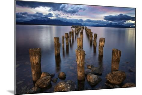 Puerto Natales Pier-Jimmy McIntyre-Mounted Photographic Print