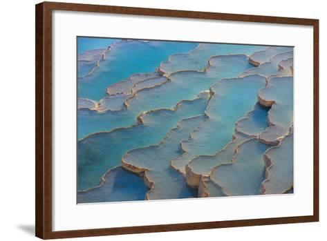 Travertine Terraces of Pamukkale-Keren Su-Framed Art Print