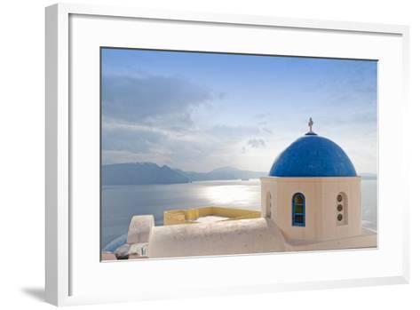 Santorini Landscape.-Manel PhotoArte-Framed Art Print