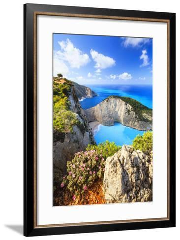 Navagio Bay-Evgeni Dinev Photography-Framed Art Print