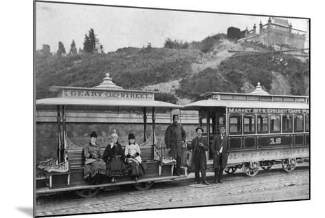 Cable Street Car-Taber Photo San Francisco-Mounted Photographic Print