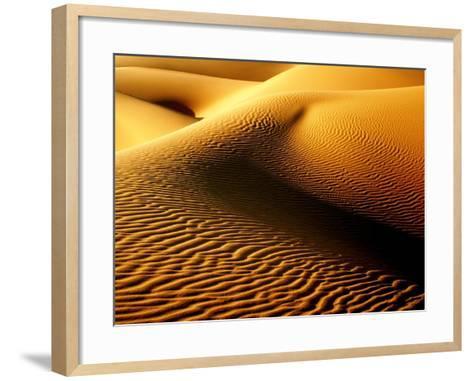 Shimmering Sahara, Libya-Joe & Clair Carnegie / Libyan Soup-Framed Art Print