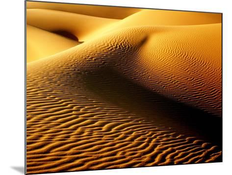 Shimmering Sahara, Libya-Joe & Clair Carnegie / Libyan Soup-Mounted Photographic Print
