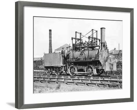 Stephenson's First-Topical Press Agency-Framed Art Print