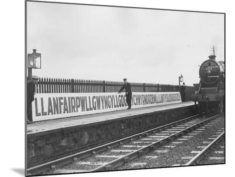 Welsh Station-Fox Photos-Mounted Photographic Print