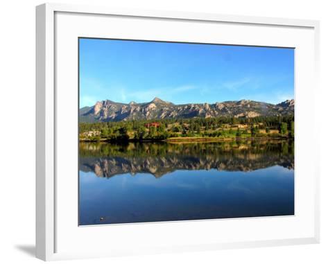 Lake Estes-Sandra Leidholdt-Framed Art Print