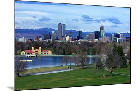 Springtime in Denver-Hansrico Photography-Mounted Photographic Print