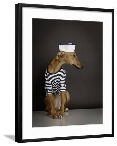DOGS-Rainer Elstermann-Framed Art Print