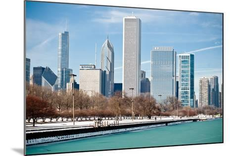 Chicago Skyline-George Imrie Photography-Mounted Photographic Print