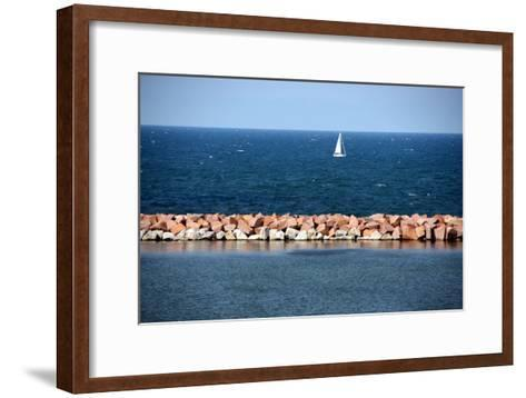 Lake Michigan-Luiz Felipe Castro-Framed Art Print
