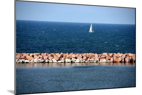 Lake Michigan-Luiz Felipe Castro-Mounted Photographic Print