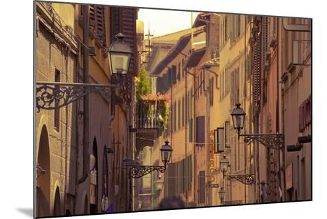 Streets of Florence-Tjarko Evenboer / The Netherlands-Mounted Photographic Print