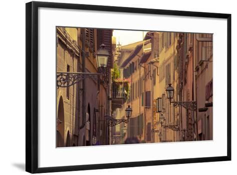 Streets of Florence-Tjarko Evenboer / The Netherlands-Framed Art Print