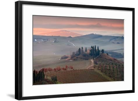 Podere Belvedere-Photographer  Renzi Tommaso tommyre00@hotmai-Framed Art Print