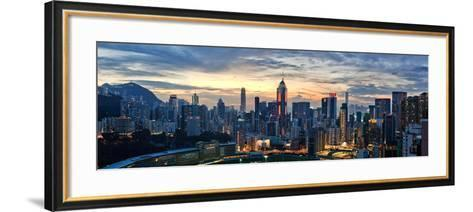 Happy Valley at Sunset-Lowell Ling-Framed Art Print