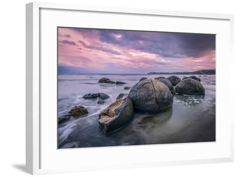 Hatchery | Otago Coast, Nz-Copyright Lorenzo Montezemolo-Framed Art Print