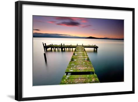 Turn Left-PHOTOGRAPHY BY ANTHONY KO-Framed Art Print