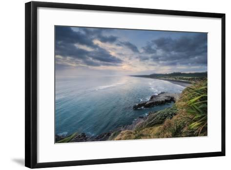 North View Muriwai-Nick Twyford Photography-Framed Art Print