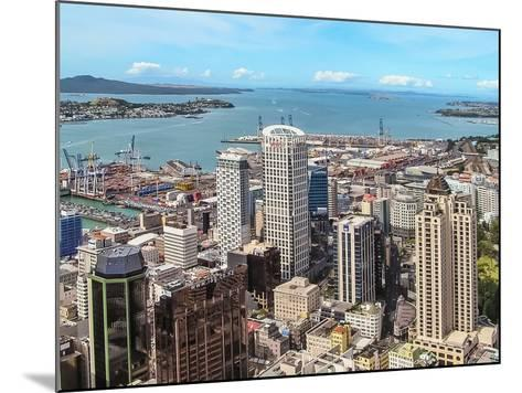 Auckland, New Zealand-Steve Oldham-Mounted Photographic Print