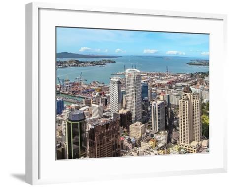 Auckland, New Zealand-Steve Oldham-Framed Art Print