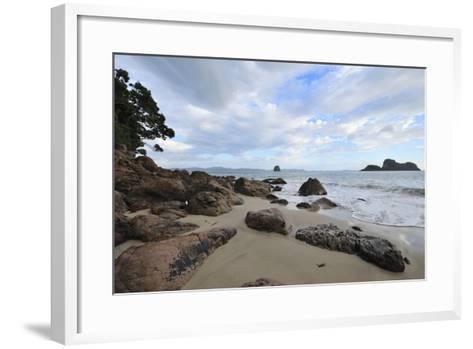 Beach on the Morning-Raimund Linke-Framed Art Print