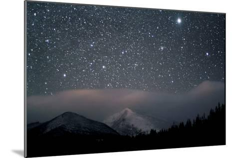 Stars over Rocky Mountain National Park-Pat Gaines-Mounted Photographic Print