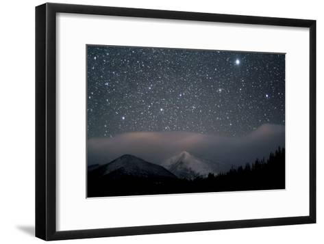 Stars over Rocky Mountain National Park-Pat Gaines-Framed Art Print