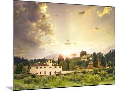Italian Landscape-Dmytro Tokar-Mounted Photographic Print