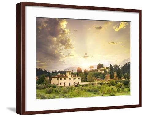 Italian Landscape-Dmytro Tokar-Framed Art Print
