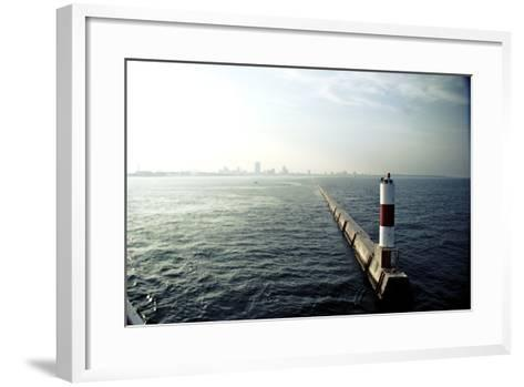 Milwaukee Harbor-Chad VanWalsum-Framed Art Print
