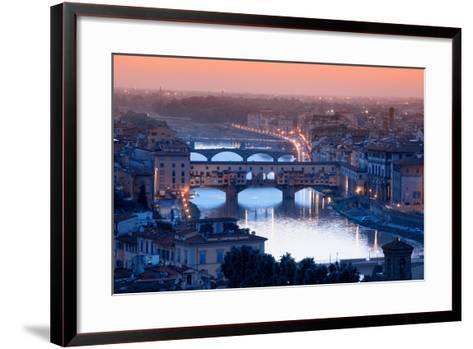 Florence Skyline-Visions Of Our Land-Framed Art Print
