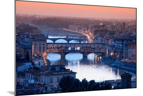 Florence Skyline-Visions Of Our Land-Mounted Photographic Print