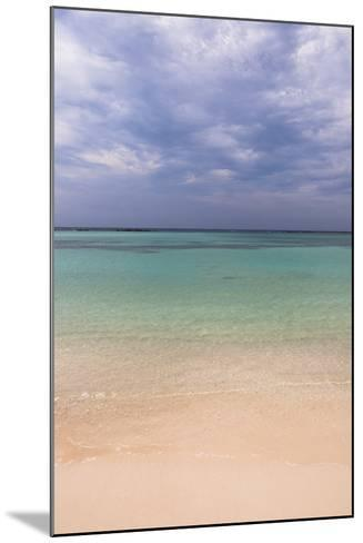 Scenic of Water and Beach, Baby Beach, Aruba, Lesser Antilles, Caribbean-Alberto Biscaro-Mounted Photographic Print