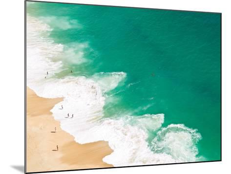 Aerial View of Beach-David Lopes-Mounted Photographic Print