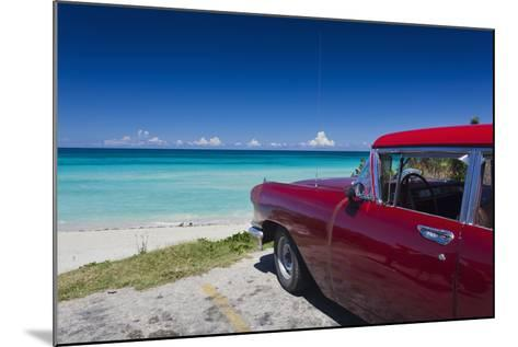 Cuba, Matanzas Province, Varadero, Varadero Beach-Walter Bibikow-Mounted Photographic Print