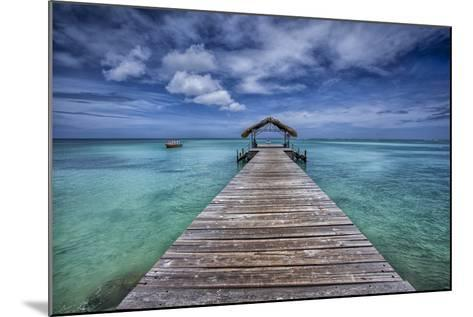 Pier to Paradise-Timothy Corbin-Mounted Photographic Print