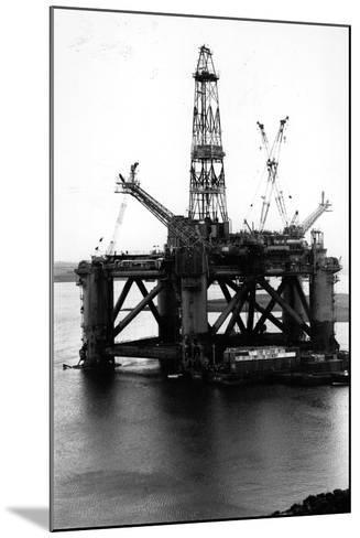 Oil Rigs-Colin Davey-Mounted Photographic Print