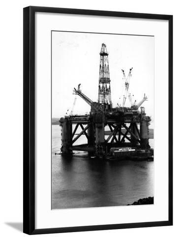 Oil Rigs-Colin Davey-Framed Art Print