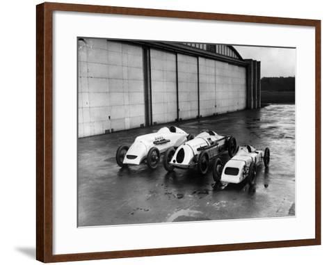 Record Bid Cars-E. Bacon-Framed Art Print
