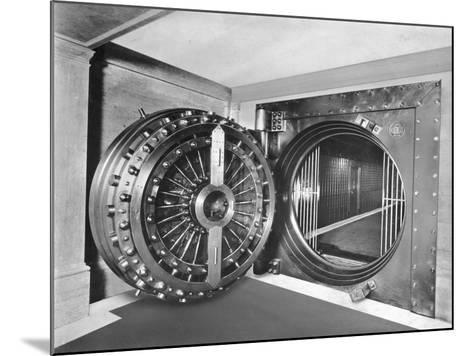 Midland Bank Safe-Evening Standard-Mounted Photographic Print