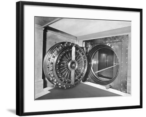 Midland Bank Safe-Evening Standard-Framed Art Print